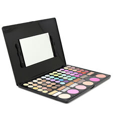78 Colors Eyeshadow Palette + Waterproof Eyeliner Gel Professional Makeup Tools