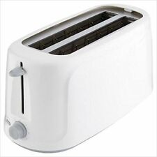 Tesco Basics 4-Slice/ 2-Slot Multifunction High Performance Toaster 1450W -White