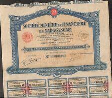 Société Minière & Financière de MADAGASCAR (O)