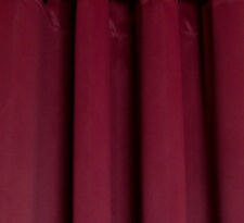 Thermal Insulated Blackout Curtains, Burgundy 90 x 52 ea. panel - 2 panels