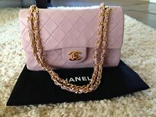 Vintage Pink Chanel Small Double Flap Bag