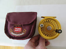 rare A1 penn U.S.A gold international fly fishing reel no. 2.5  + case