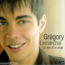 CD audio.../...GREGORY LEMARCHAL.../...LA VOIX D'UN ANGE......