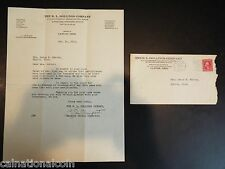 The R.L. Dollings Company Letterhead Letter and Envelope 1923