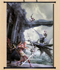 Home Decor Japan Wall poster Scroll Final Fantasy 13-2 FF XIII -2 Serah Farron