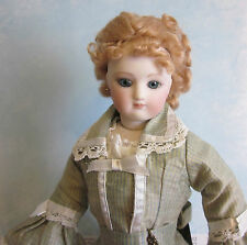 Blonde or Brown French Fashion doll mohair wig Size  7