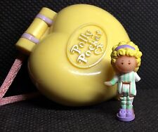 Polly Pocket Mini �� 1991 Polly in her Bedroom Locket 100%