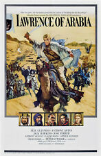 24X36Inch Art LAWRENCE OF ARABIA Movie Poster 1962 Hollywood Classic RARE P33
