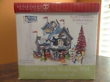 IDEO! Dept 56 56787 Frosty Snowman Weather Station Christmas North Pole Village