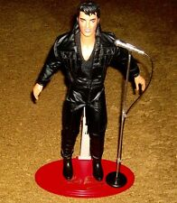 ELVIS 68 SPECIAL HASBRO DOLL  WITH STAND AND MICROPHONE!  1993