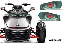 AMR Racing Head Light Eyes For Can-Am Spyder F3 Headlight Decals Part NIGHTMARE