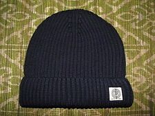 Men's $50. POLO-RALPH LAUREN Navy Cotton Knit Watch Cap/ Hat (skull, beenie)