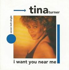 Tina Turner - I Want You Near Me / Steamy Windows (Vinyl-Single 1991) !!!