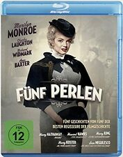 Marilyn Monroe CINCO PERLAS Anne Baxter RICHARD WIDMARK Charles Laughton BLU-RAY