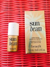 Benefit Sun Beam Golden Bronzer Complexion Highlighter 13ml/0.45oz NIB~BIN!