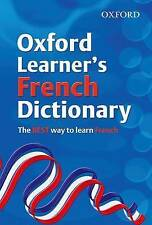 NEW Oxford Learner's French Dictionary FREE ON LINE SUPPORT VERBS, TOPICS