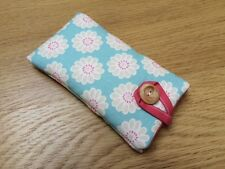 Clarke and Clarke Daisy Aqua - iPod Nano 7th / 8th Generation Fabric Padded Case