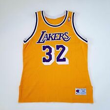 100% Authentic Magic Johnson Champion NBA LA Lakers Jersey Size 44 L - kobe