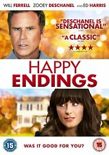 Happy Endings on DVD, 2013 Will Ferrell Zooey Deschanel Ed Harris