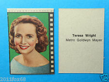 figurines figuren actrices figurine nannina 1950 teresa wright cinema actresses