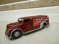 "Renwal #8010 VINTAGE 1950 DELIVERY Metal 6"" SODA POP Van Toy Truck, rubber tires"