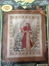 RARE Teresa Wentzler Angel of Frost counted X stitch KIT, sealed Just Cross Stit