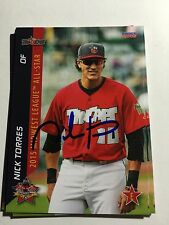 2015 Midwest League All Star Signed Nick Torres Tincaps