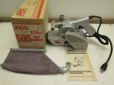 "VTG NOS SKIL 595 3"" 3/4-HP Belt Sander Commercial Duty USA NIB Power Tool NEW"