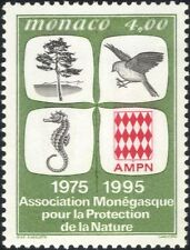 Monaco 1995 Nature Protection/Bird/Seahorse/Tree/Conservation 1v (n40587)