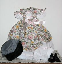 """Shirley Temple's  """"THE LITTLEST REBEL"""" 5 pc. Danbury Mint Dress-Up Doll Outfit"""