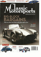 CLASSIC MOTOR SPORTS,   SEPTEMBER, 2014  ( BIG-BLOCK BARGAINS * THE BEST BEETLE)