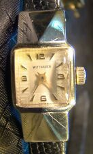 Pretty Ladies Wittnauer Extended Case 10 K Gold Filled Unique Vintage Watch Wind