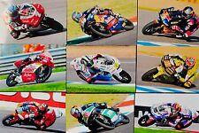 32 sin firmar orginalfotos de la temporada 2011 125cc 10 x 15 cm nuevo