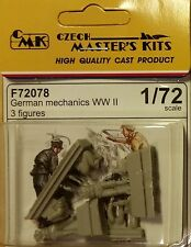 German mechanics WWII 3 figures 1:72 Special Hobby - CMK F72078