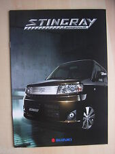 Suzuki Wagon R Stingray, Prospekt / Brochure / Depliant, Japan 4.2007