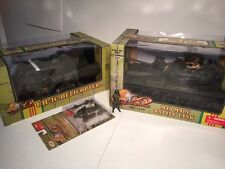 ULTIMATE SOLDIER 21st Century 1:18 LOT UH1C Huey Helicopter M48 TANK USMC NEW!