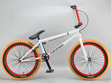 Mafiabikes KUSH 2+ 20 inch bmx bike boys girls Mafia White 20""