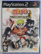 COMPLET jeu NARUTO ULTIMATE NINJA sur playstation 2 sony PS2 game francais spiel