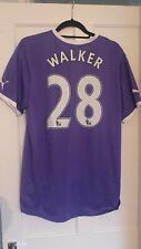 Tottenham Hotspur Spurs Purple Away 2011/2012 SS Kyle Walker Shirt Jersey