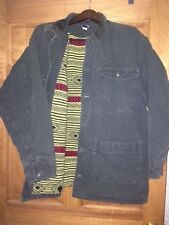 Vintage Patagonia Hunter Green Barn Chore Aztec Lined Cotton Jacket - XL