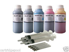 5x250ml refill ink for Canon PG-210 CL-211 PIXMA MX330 MX340 MX350 MX360 MX410