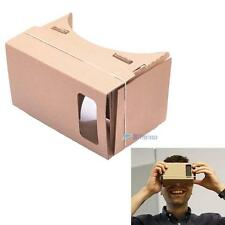 DIY Google Cardboard Virtual Reality 3D Glasses for iPhone Samsung Phones TLC