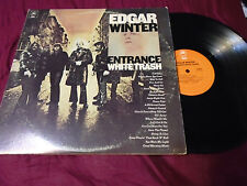EDGAR WINTER:- Entrance   White Trash     LPs gatefold cover  LOOK LP