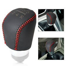 Genuine Leather 5-Speed Gear Shift Knob Cover for 2004-2015 Ford Focus MK II III