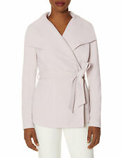 The Limited SCANDAL Collection Lilac Purple Shawl Collar Coat Jacket S Small NWT