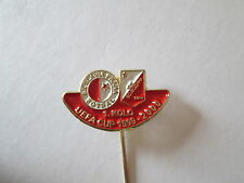 a1 SLAVIA PRAHA - VOJVODINA cup uefa europa league 2000 football pins