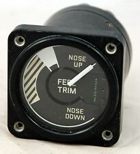 Feel trim gauge for RAF Gnat aircraft (GC9)