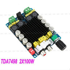 The New! TDA7498 Class D 2X100W Dual Channel Audio Stereo Amplifier Board