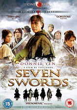 SEVEN SWORDS - DVD - REGION 2 UK