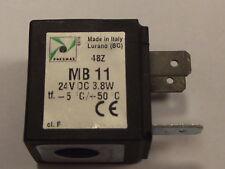 Pneumax MB11 24v DC Bobine Magnétique 3.8 Watt,pour utilisation avec nombreuses
